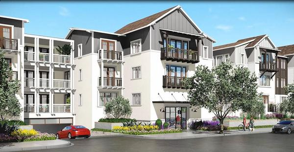 Carlyle Carlsbad Village Residences Entrance:Secure entrance, underground parking