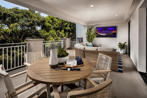 Expansive Covered Deck