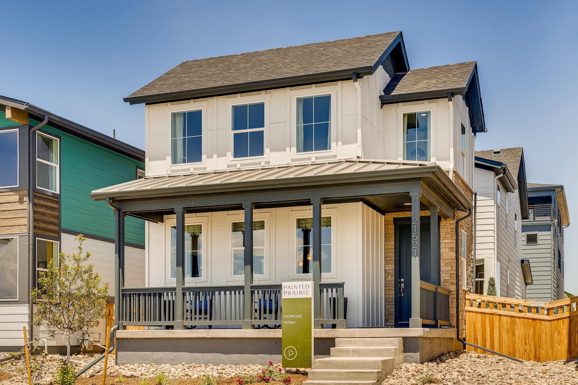 Showcase Model Home at Painted Prairie