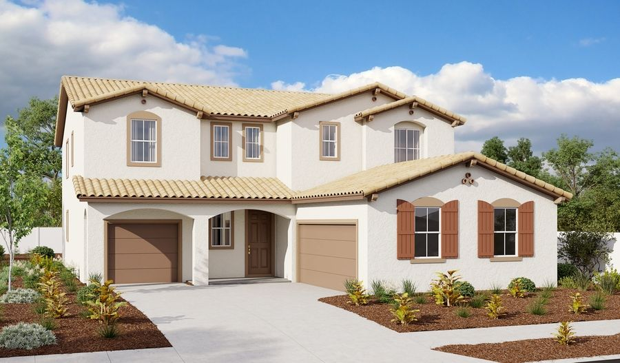 Tate-N34C-EastridgeAtWhitneyRanch Elevation A:The Tate - Elevation A