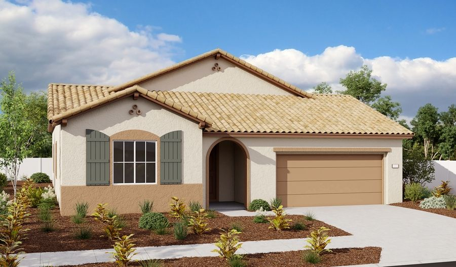 Catherine-N643-EastridgeAtWhitneyRanch Elevation A:The Catherine - Elevation A