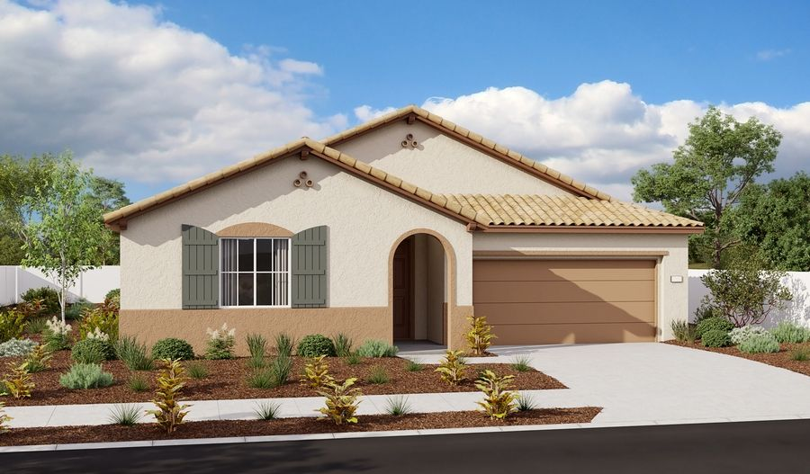 Timothy-N758-EastridgeAtWhitneyRanch Elevation A:The Timothy - Elevation A