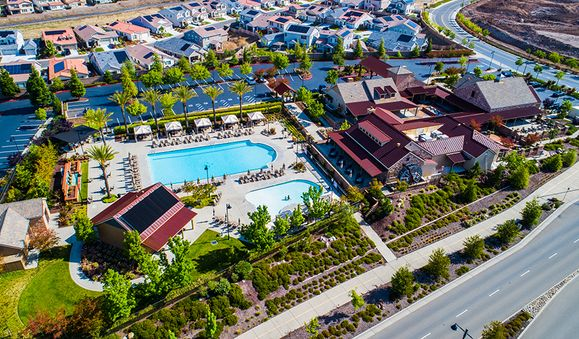 WhitneyRanch-SAC-Aerial of Pool:Whitney Ranch