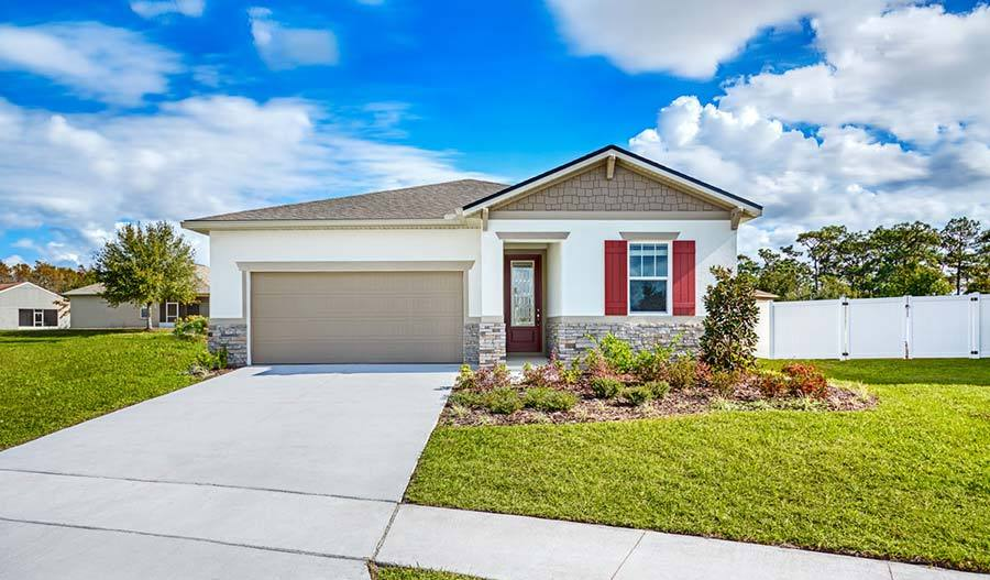 DeerCreek-ORL-Azure Lot 56 Exterior:The Azure