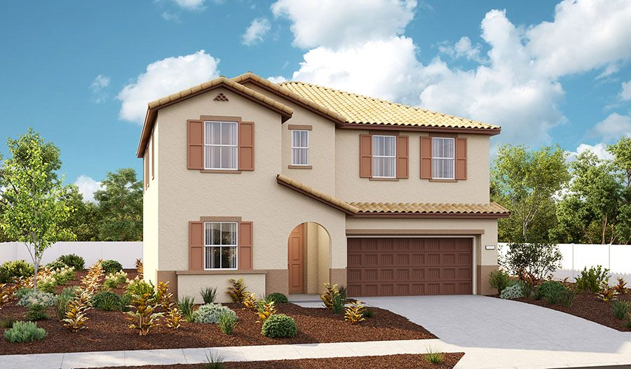 Andrea-N670-TerraParkeAtIndependence Elevation A:The Andrea - Elevation A