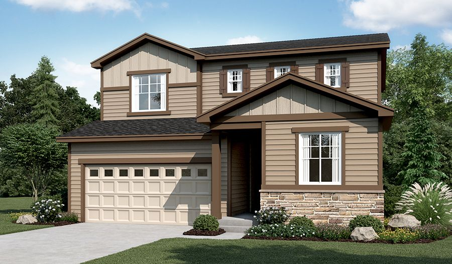 Citrine-D904-CopperleafSeasons Elevation A:The Citrine - Elevation A