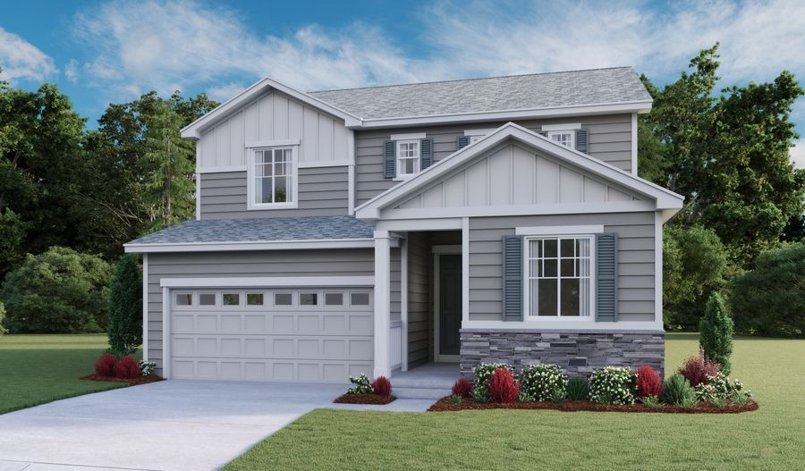 Citrine-D904-Sky Ranch Elevation A:The Citrine - Elevation A