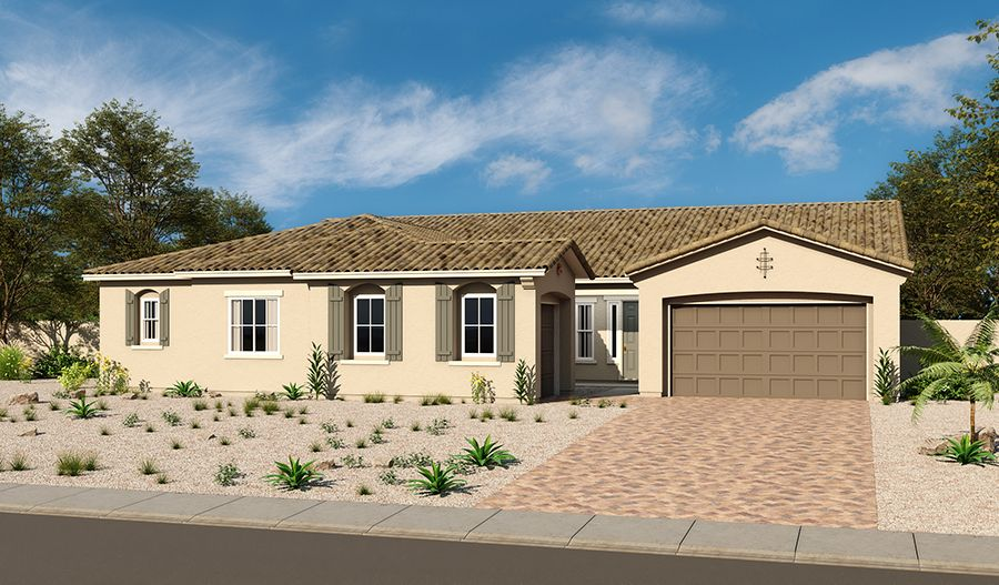 Ryder-L38R-Ravenwood Elevation A:The Ryder - Elevation A