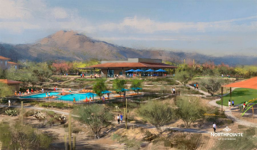 PinnacleAtNorthpointeAtVistancia-PHX-Rec Center Rendering:Northpointe at Vistancia