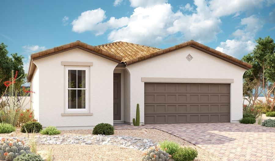 Sunstone-P919-SeasonsAtRiverside Elevation A:The Sunstone Elevation A