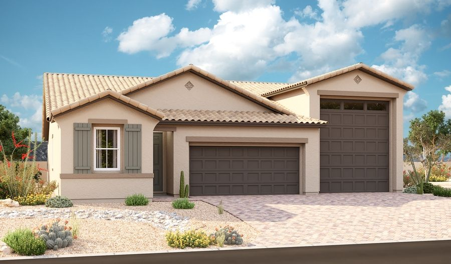 Pewter-P929-SeasonsAtRiverside Elevation A:The Pewter Elevation A