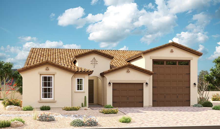 Deacon-P772-ThePreserveAtTheLakesAtRanchoElDorado Elevation A:The Deacon Elevation A