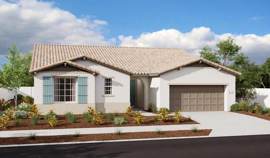 Dominic-N25B-StoneBluffAtWhiteRockSpringsRanch Elevation A:The Dominic Elevation A