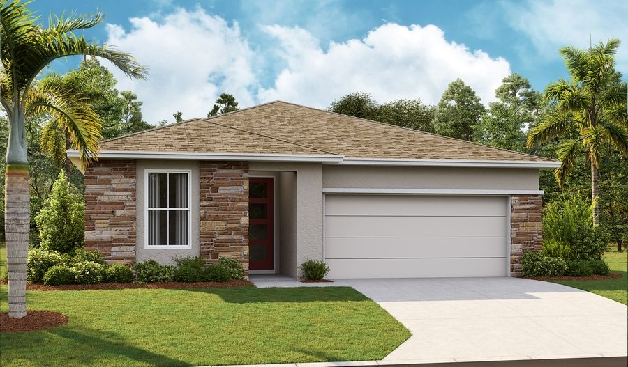 Ruby-FC11-ORL Master Contemporary Elevation L:The Ruby - Elevation L