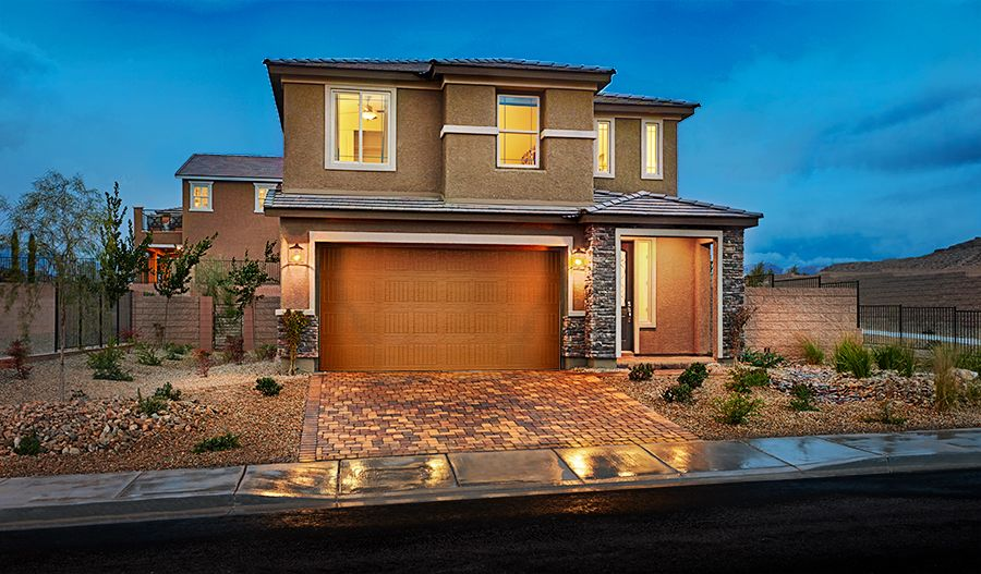 Lawson/Birch-LV-Exterior twilight (Skyline Ridge)