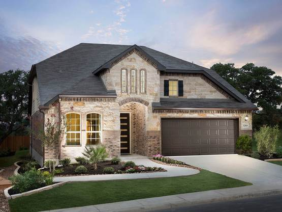 You'll love coming home to the impressive Spruce plan.