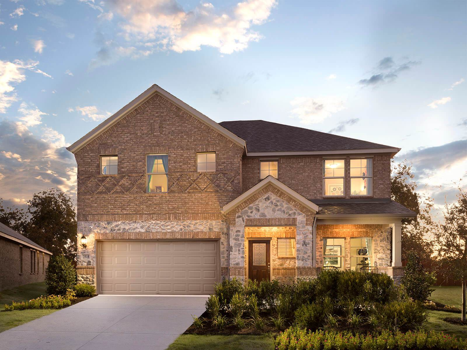 Welcome to the McKinnon model, featured at Trinity Crossing.