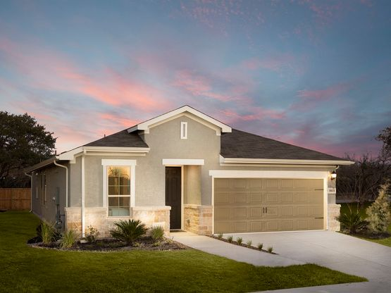 Enjoy bright, open-concept living in the Rio Grande.