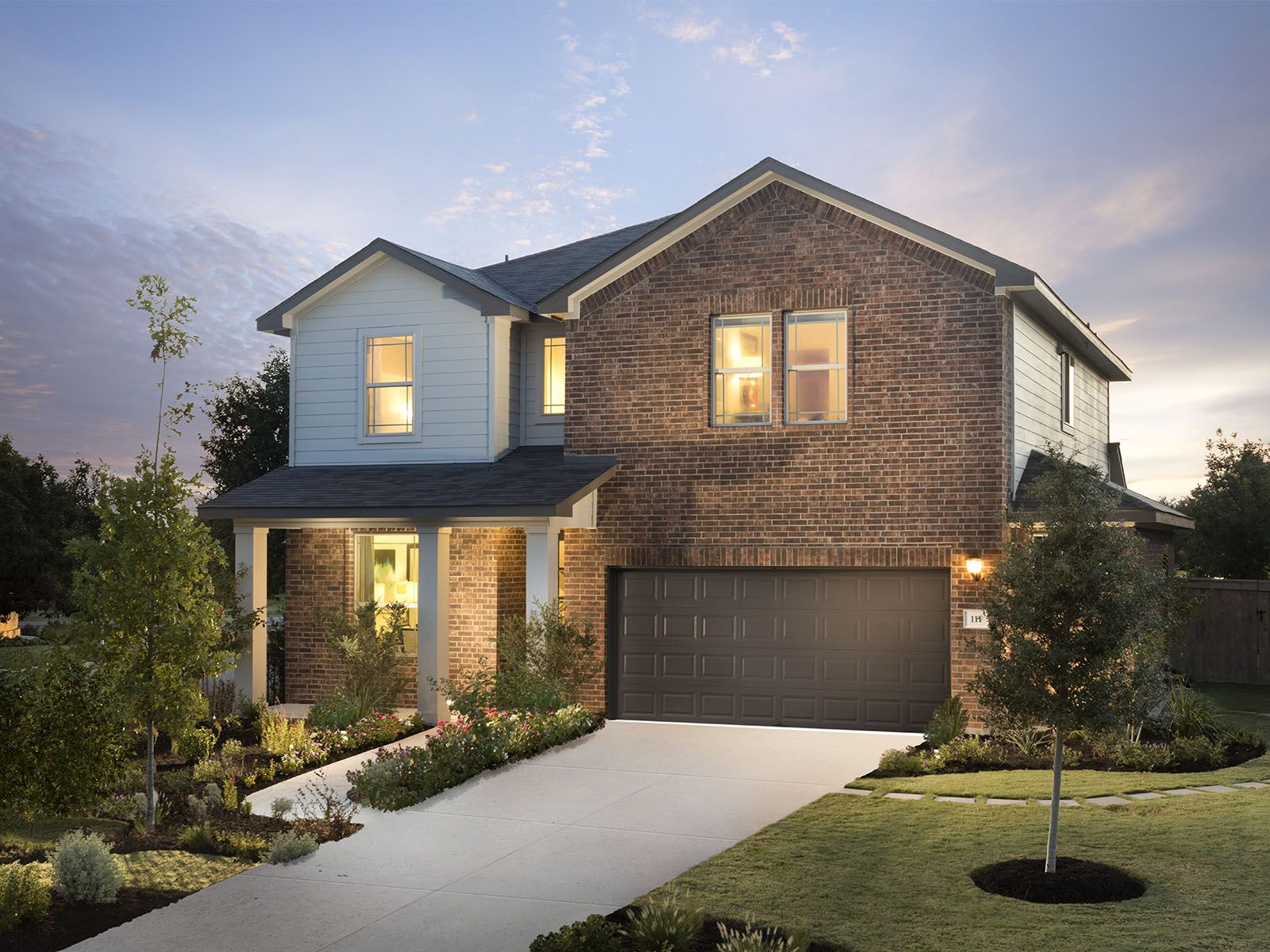 The Palmetto is one of many beautiful homes to choose from at Woodlands Park.