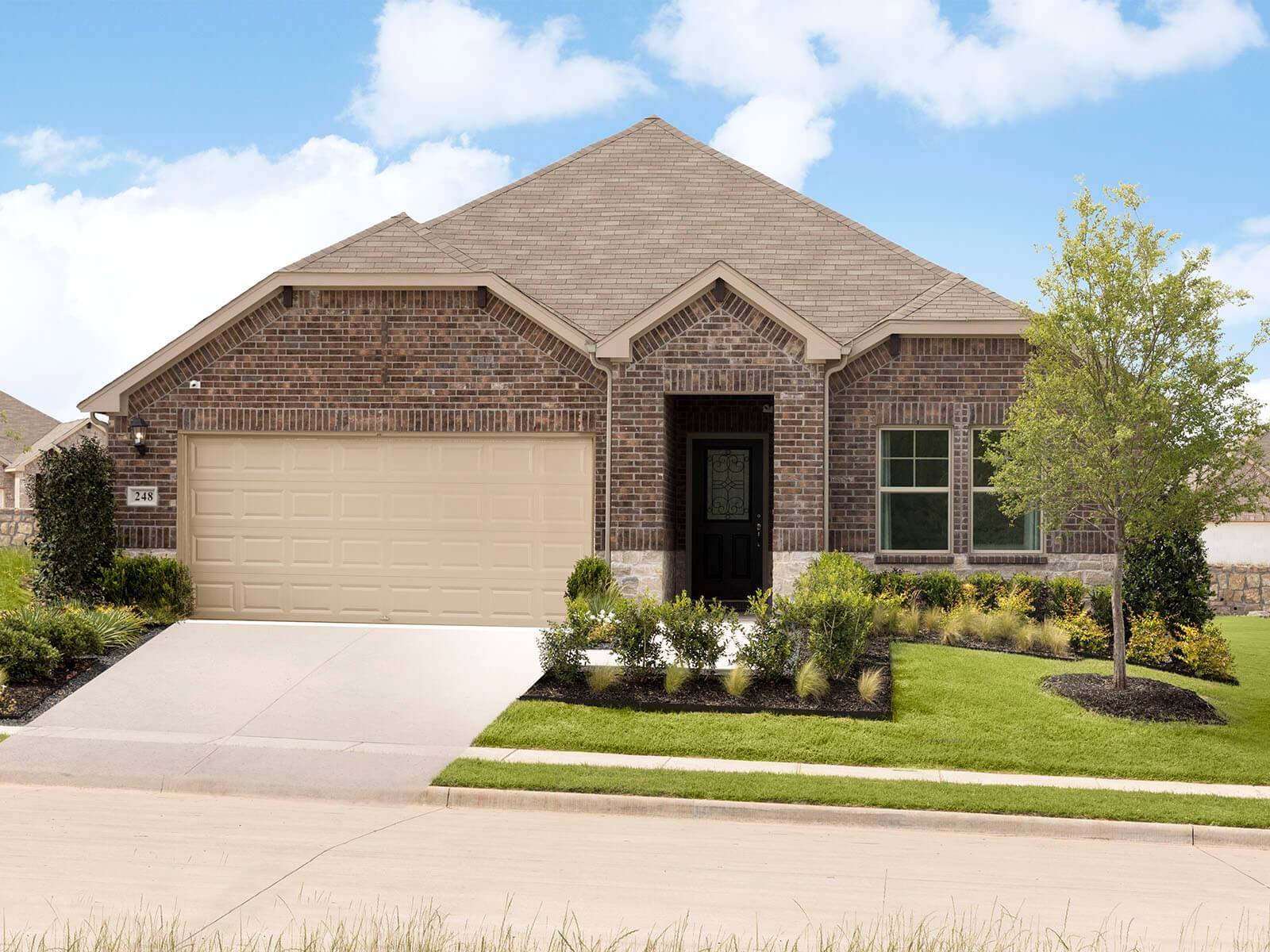 Welcome to the Henderson model, located at Lavon Farms.