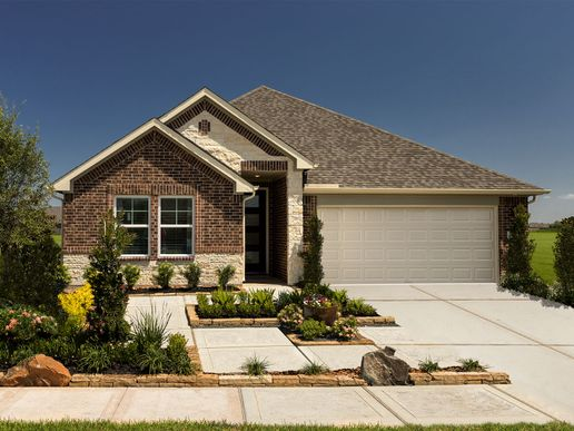 The gorgeous Preston plan is a spacious and functional single-story home.