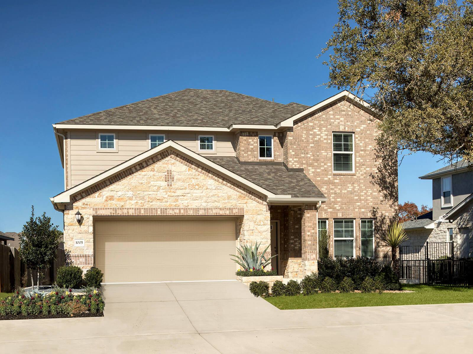 The Kessler plan offers plenty of space for the whole family.