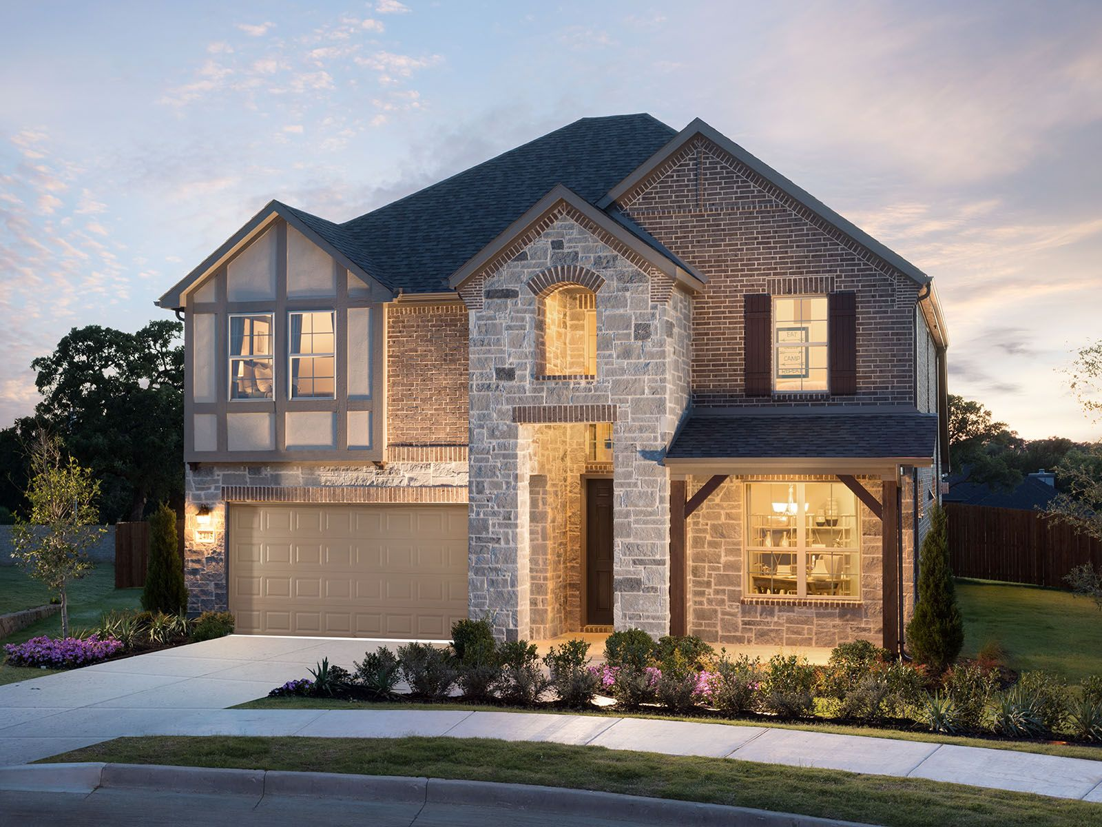 The Beech is one of the many beautiful homes to choose from at Terrace Oaks.