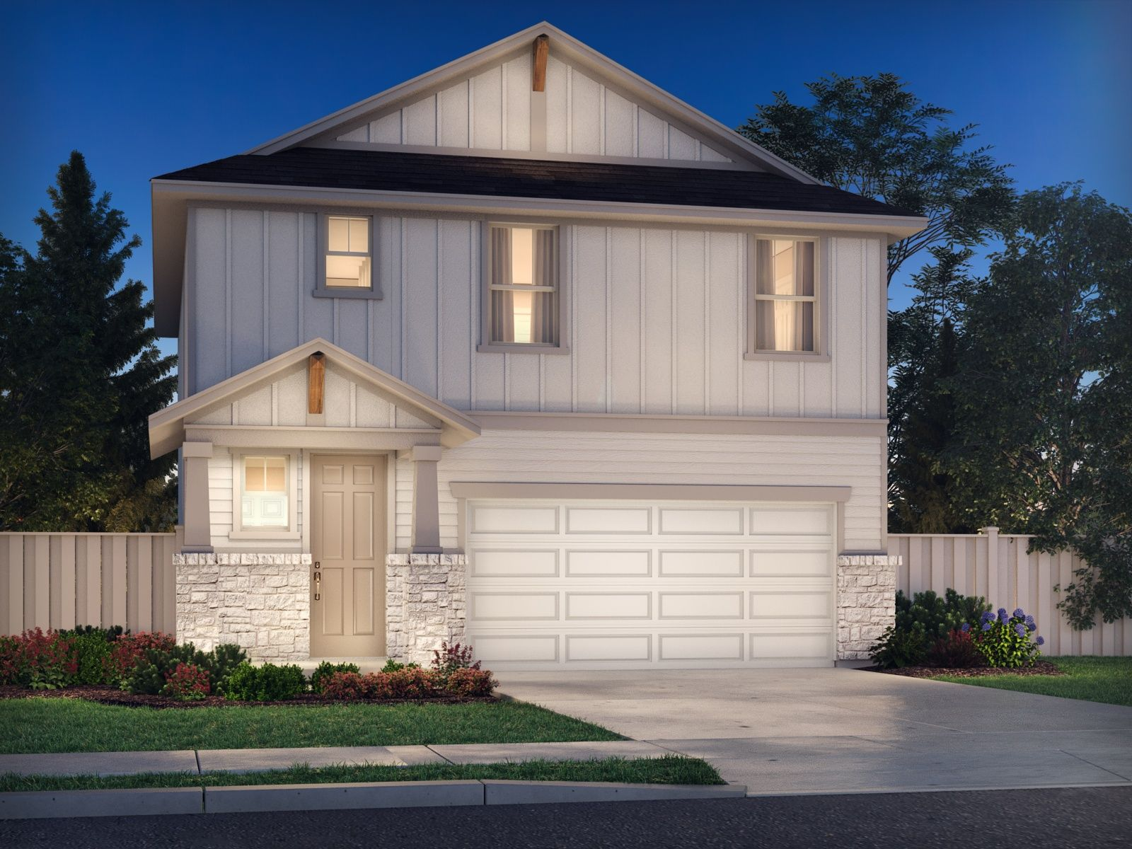 The Bryce is one of seven floorplans to choose from in the Americana Collection.