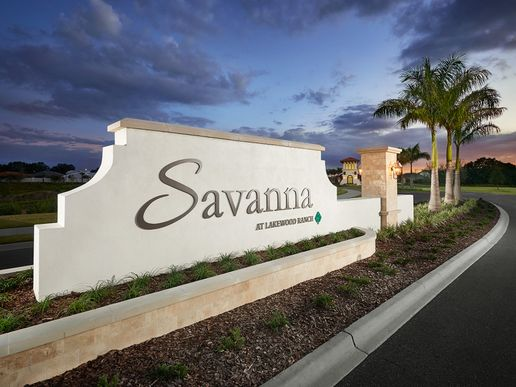 Your new home is waiting for you in Savanna at Lakewood Ranch