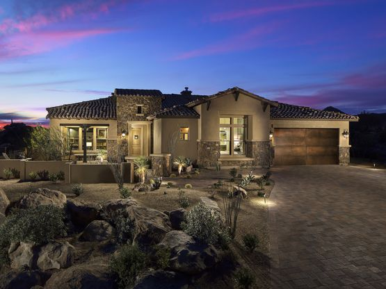 Stone Gate at Stone Canyon offers 4 amazing floor plans ranging from 2,880 sq. f