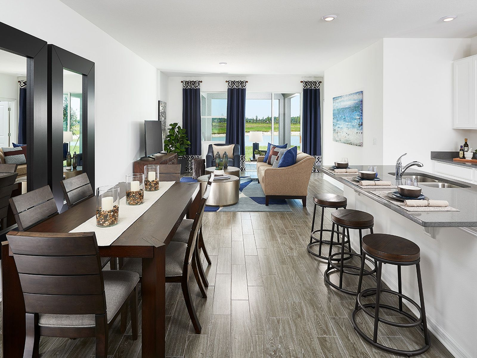 This light-filled floorplan is perfect for casual and formal entertaining.