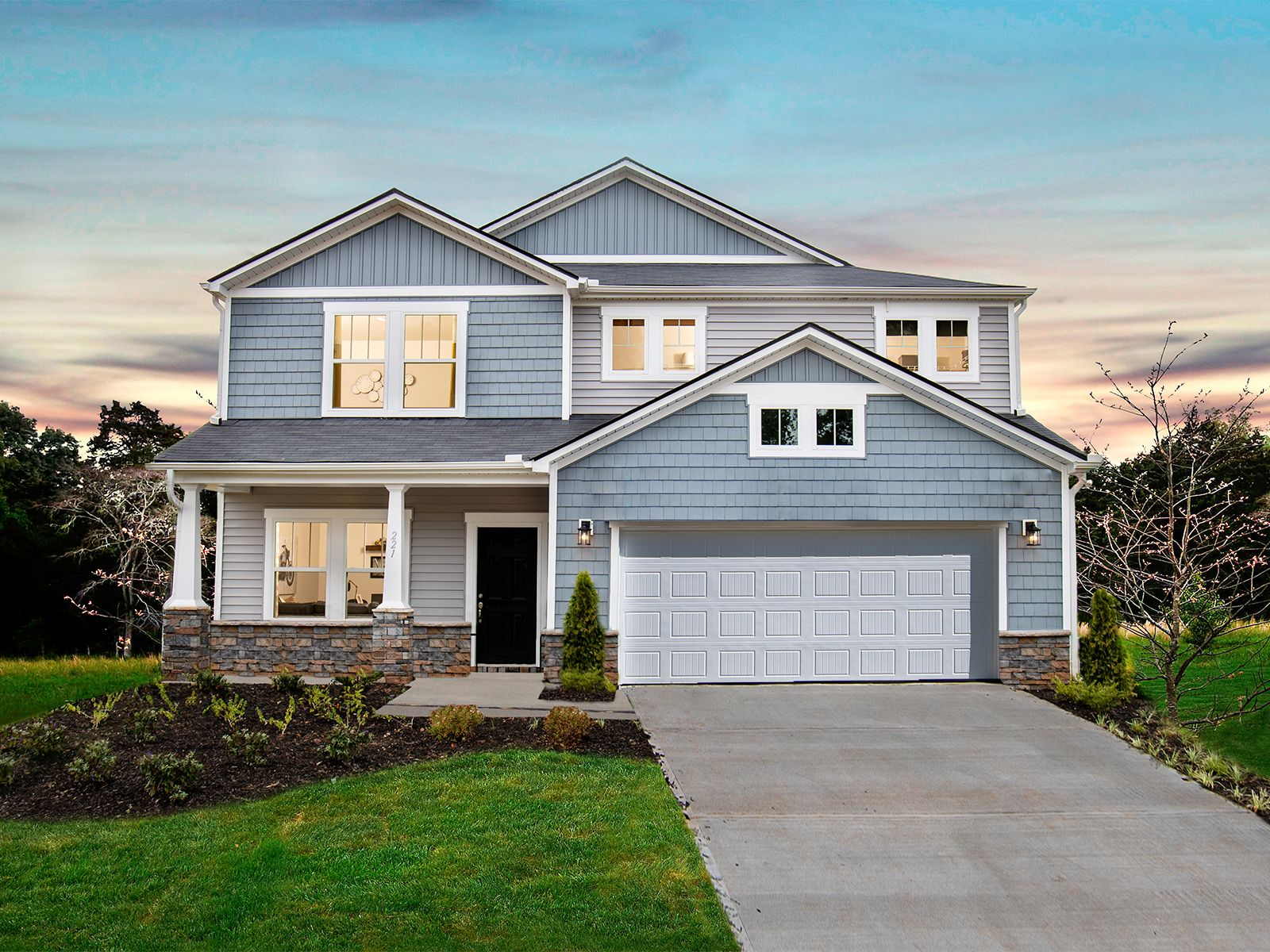 Parkview Glen offers single-family ranch and two-story homes in Anderson County.