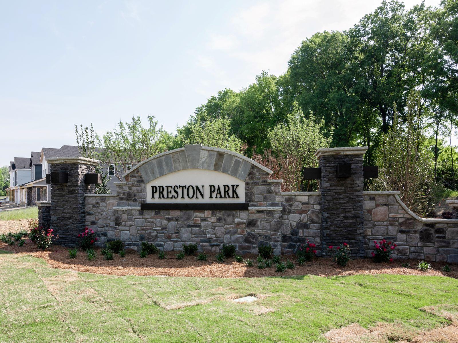 Preston Park Monument Signs
