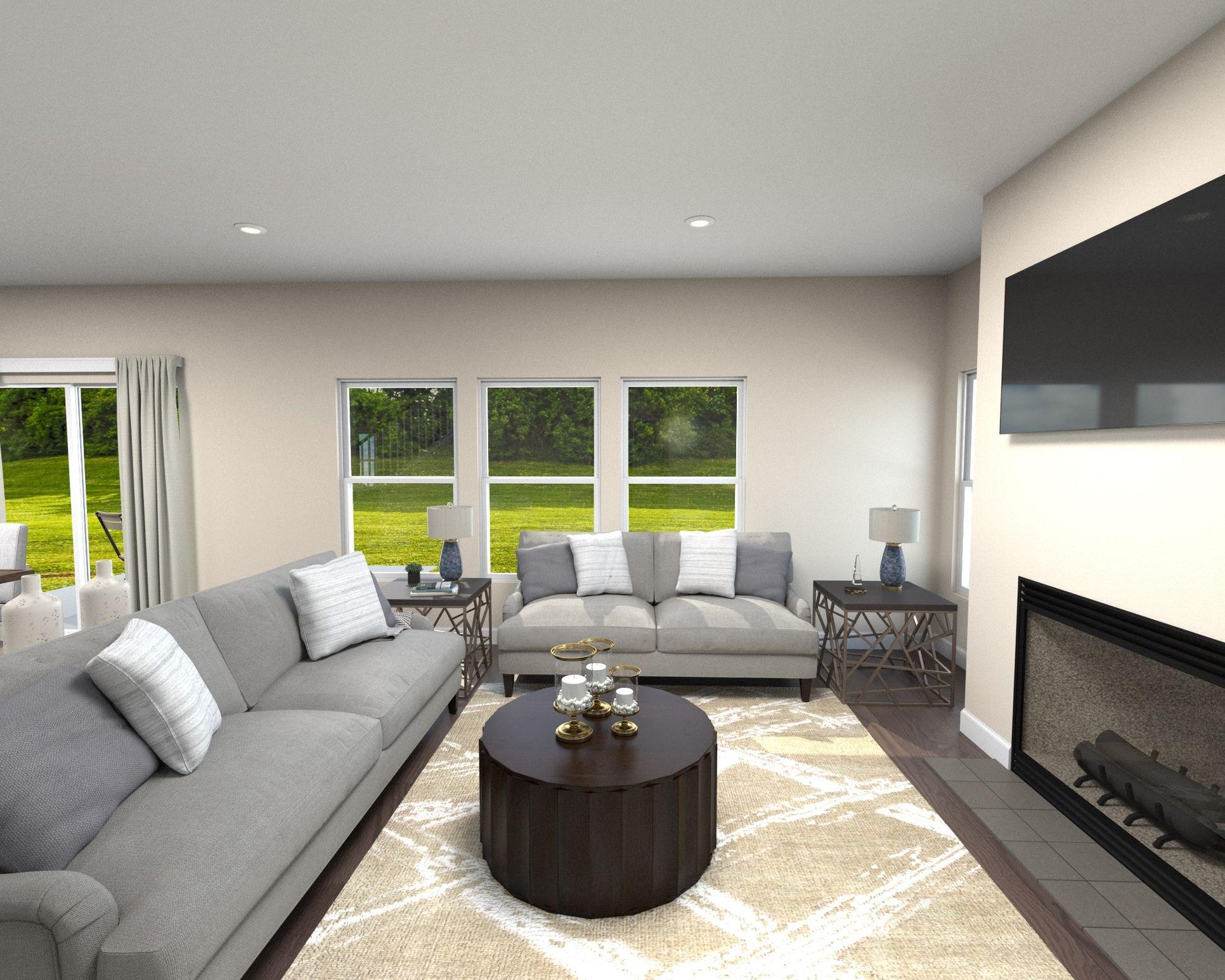 Dakota spacious living area