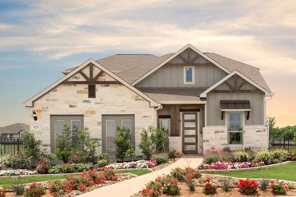 Exterior - The Granbury (Design 2488)