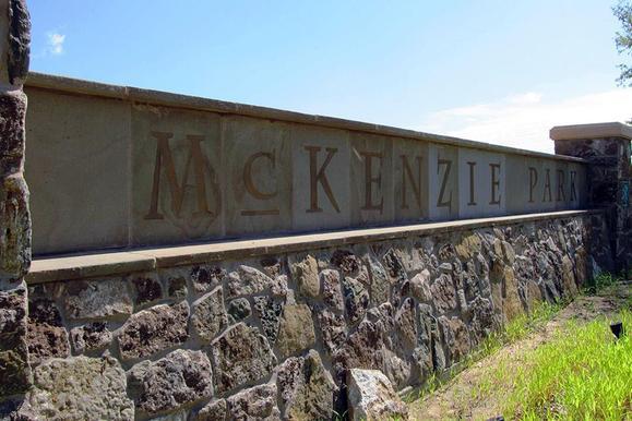 McKenzie Park Entrance
