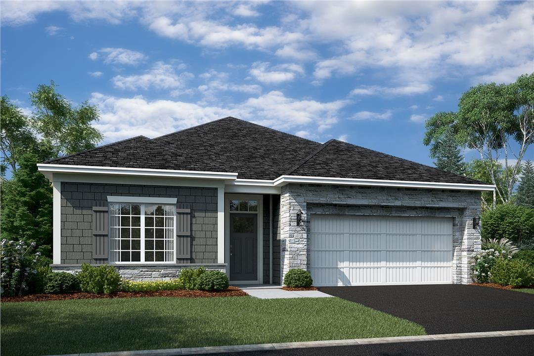 Cedarwood II Elevation B - Stone