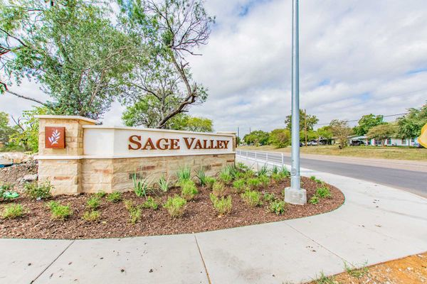 Sage Valley Entrance
