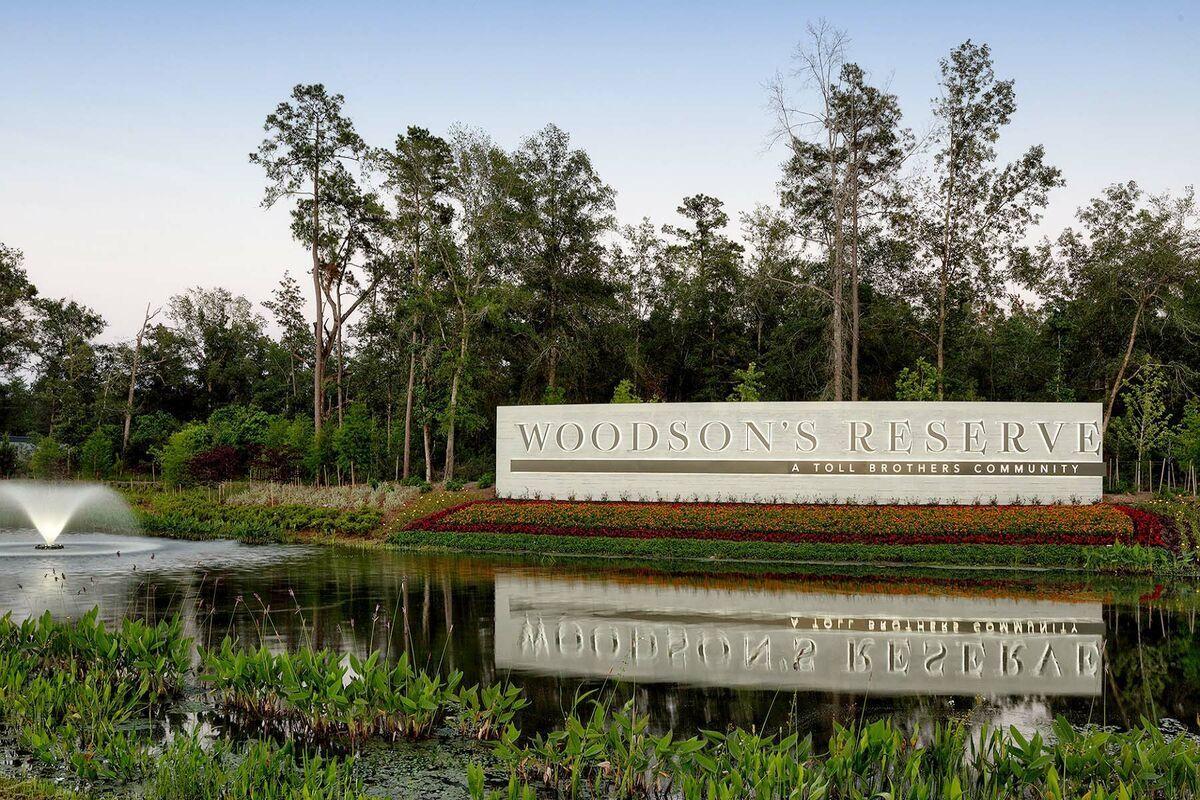 Woodson's Reserve Entrance