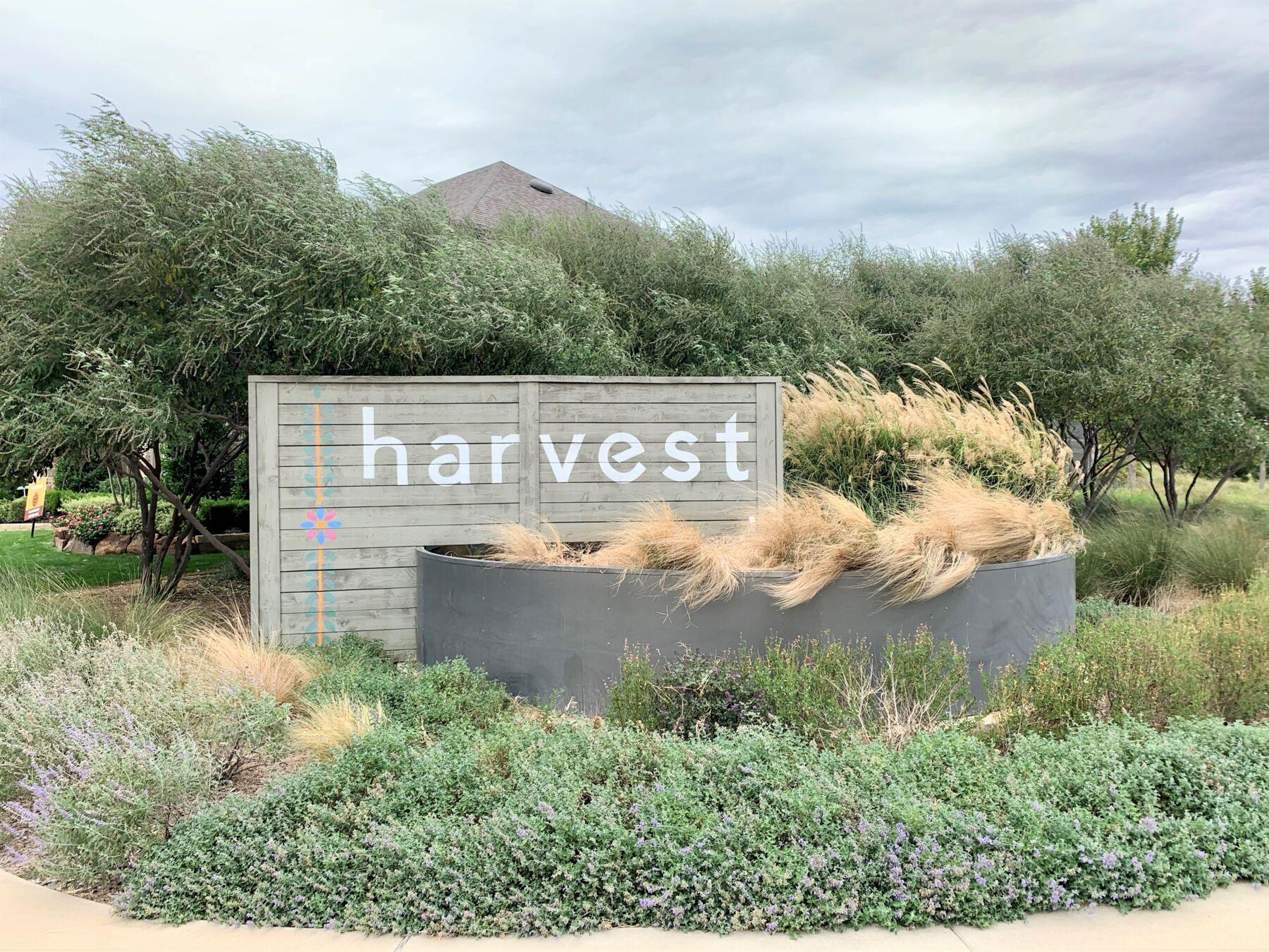 Harvest Community Entrance