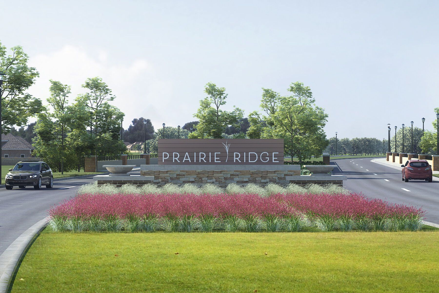 Prairie Ridge Entrance