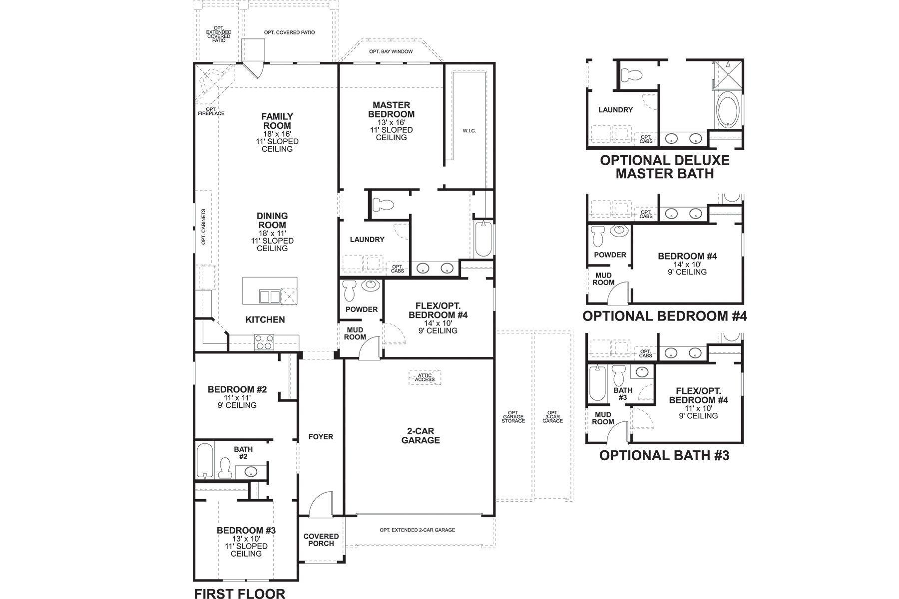 Clary Floorplan