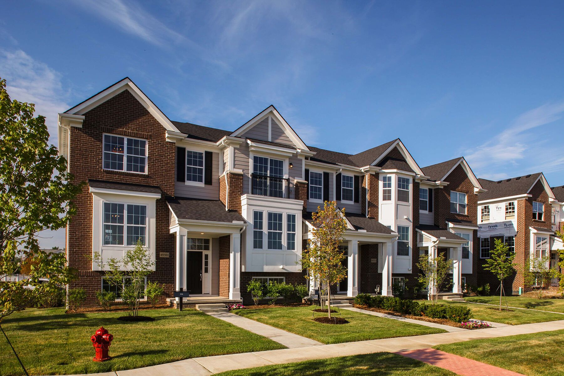 The Towns at Cherry Hill Exterior