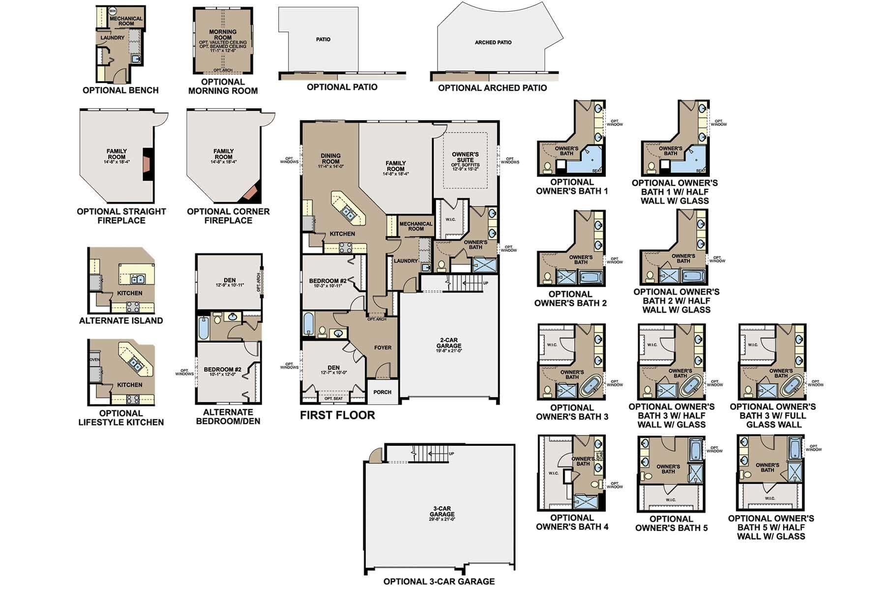 Cedarwood II First Floor