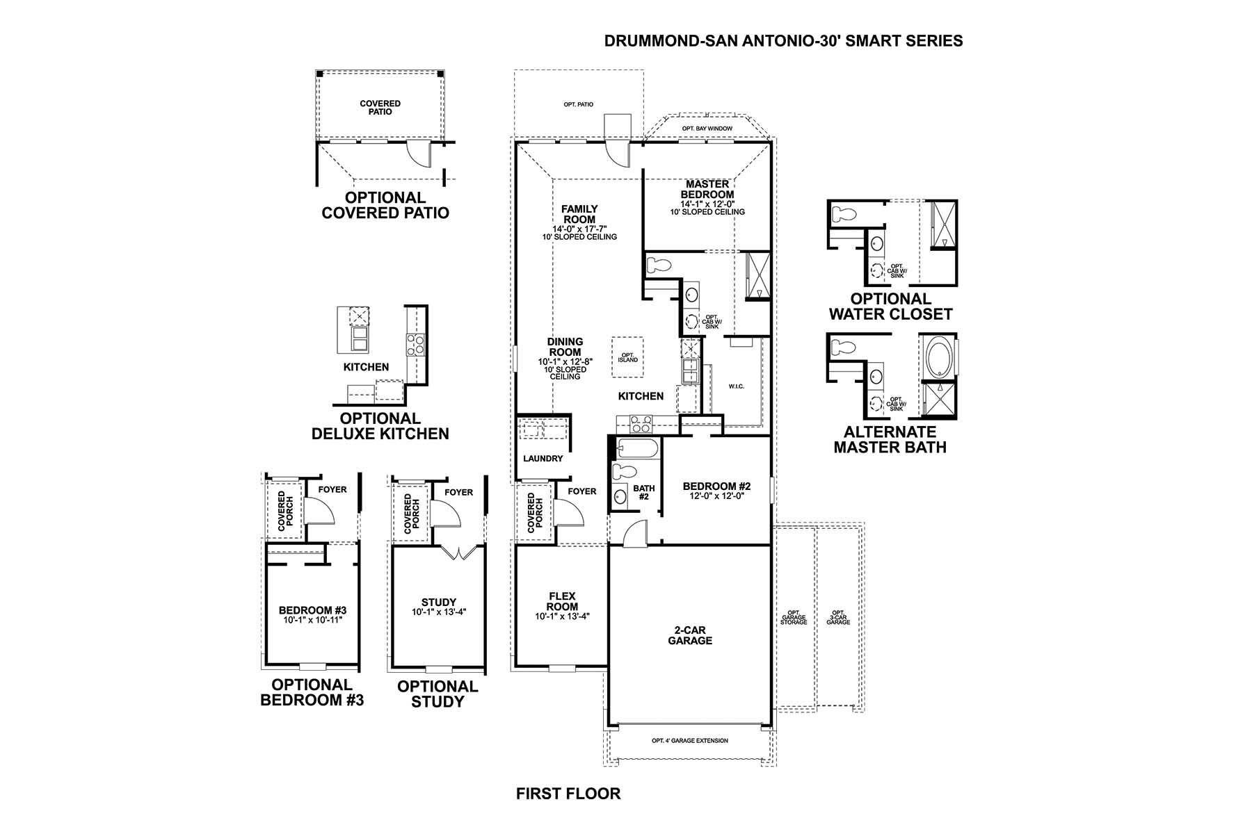 Drummond Floorplan