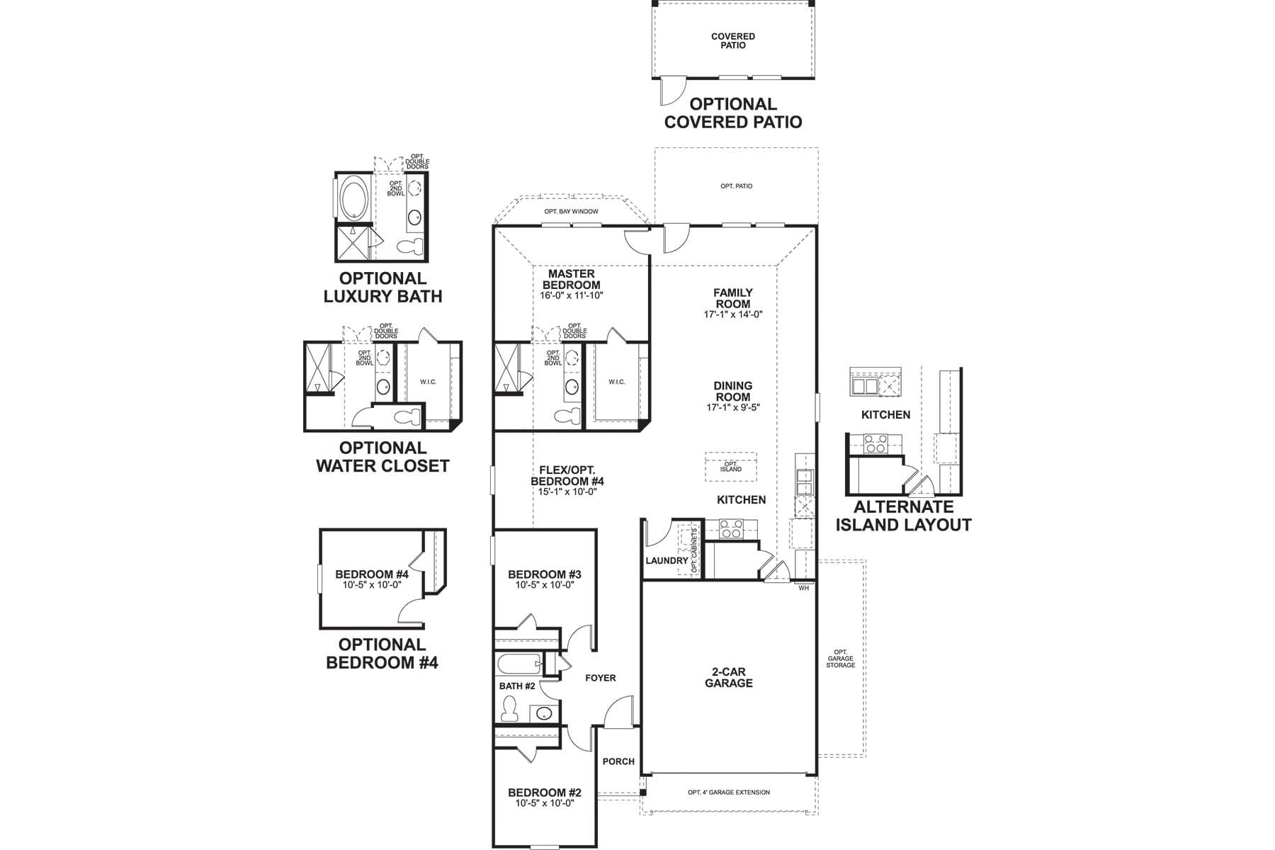 Eastland Floorplan