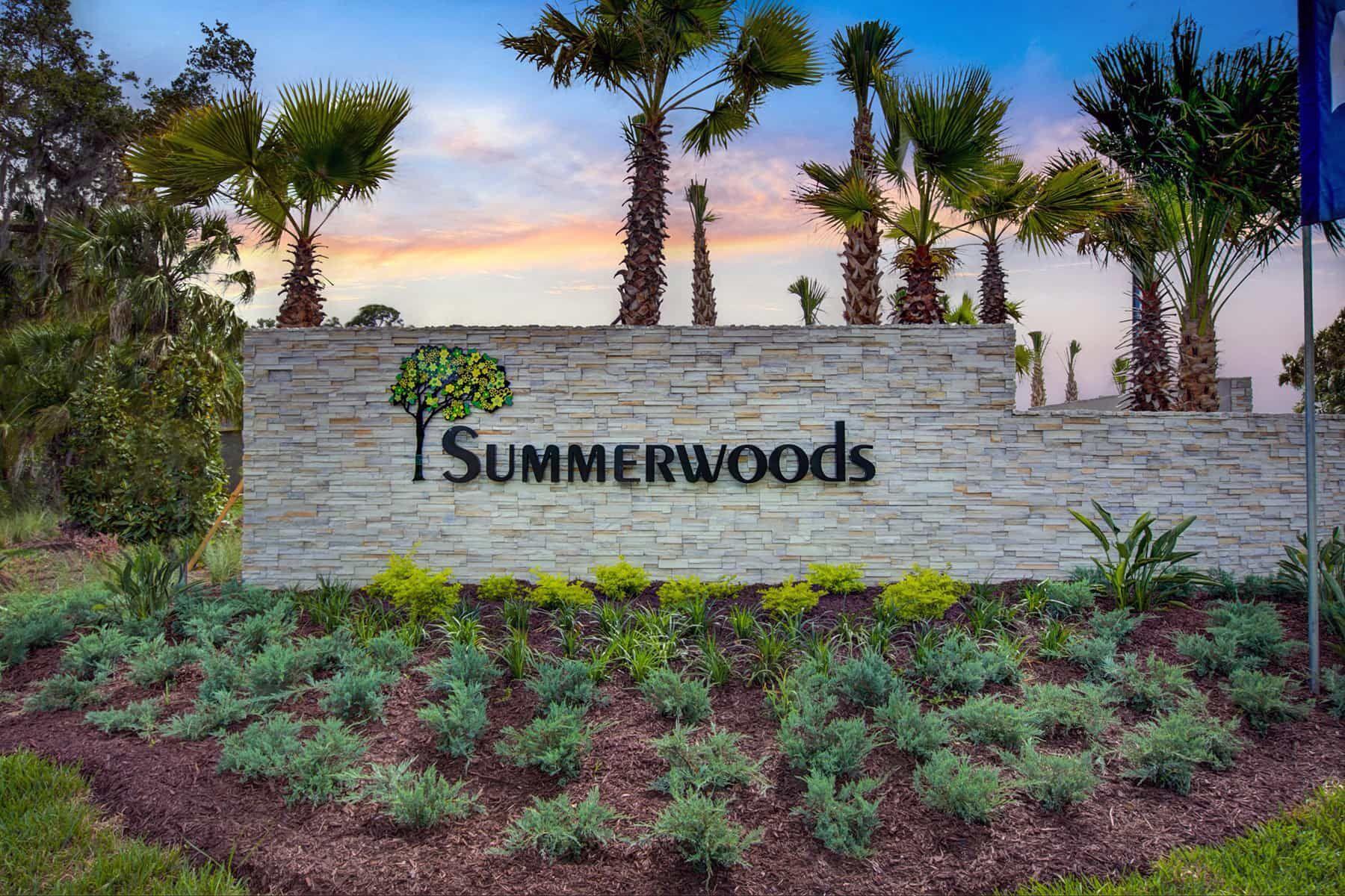 Summerwoods Entrance