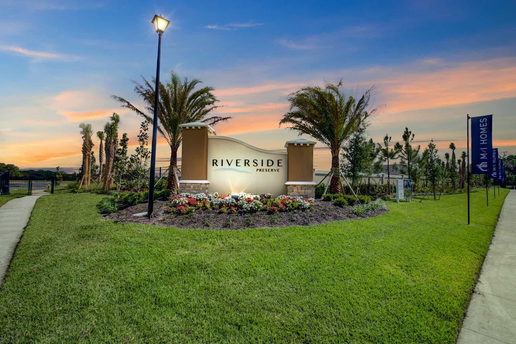 Riverside Entrance