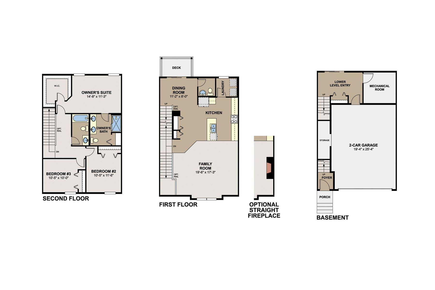 Afton Floorplan