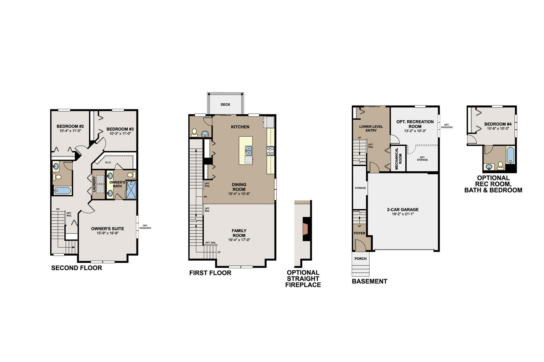 Savanna Floorplan